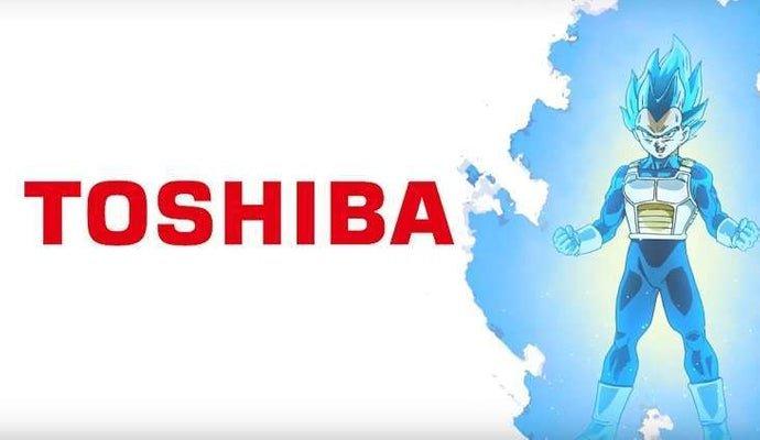 Dragon Ball Super y Toshiba publican un anuncio protagonizado por Vegeta