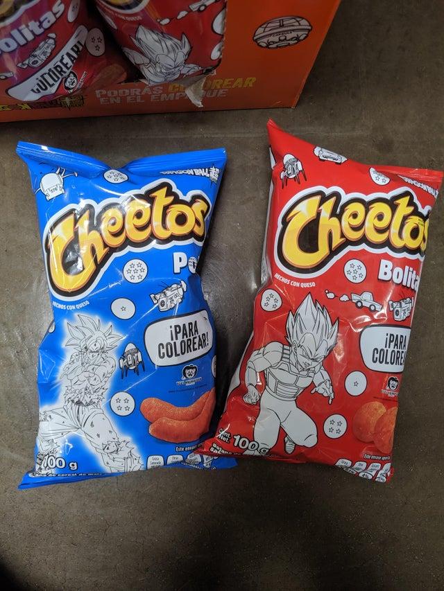 dragon ball cheetos