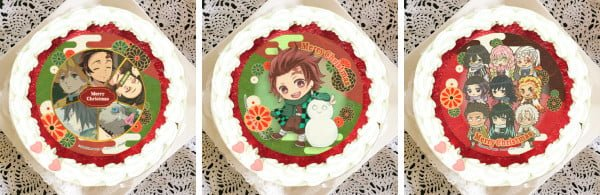 Kimetsu no Yaiba celebra la navidad con una línea de pasteles