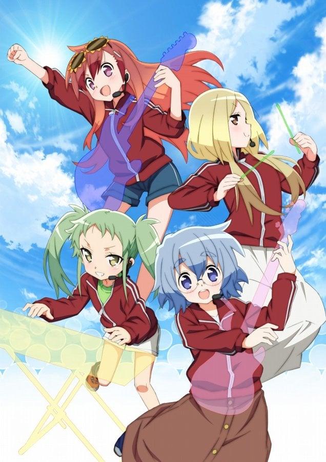 Maesetsu!, el nuevo anime del creador de Lucky Star, revela una imagen promocional