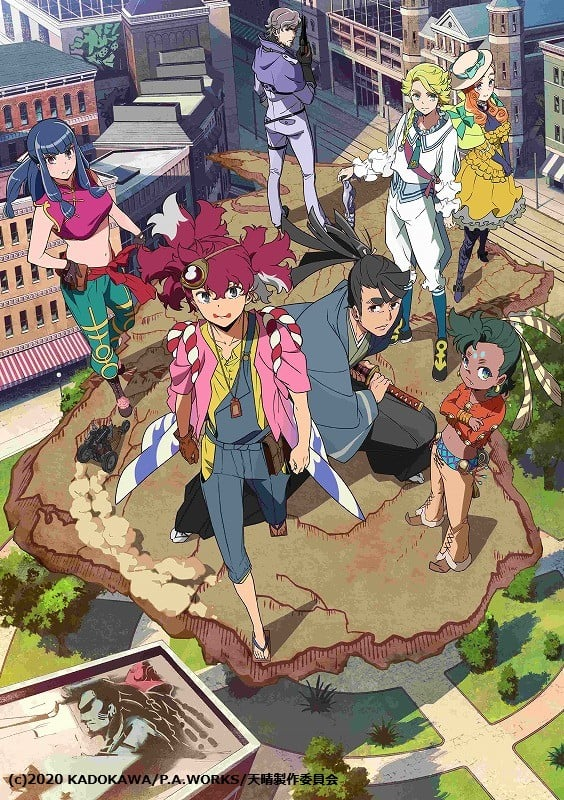 El anime Appare-Ranman revela su fecha de estreno