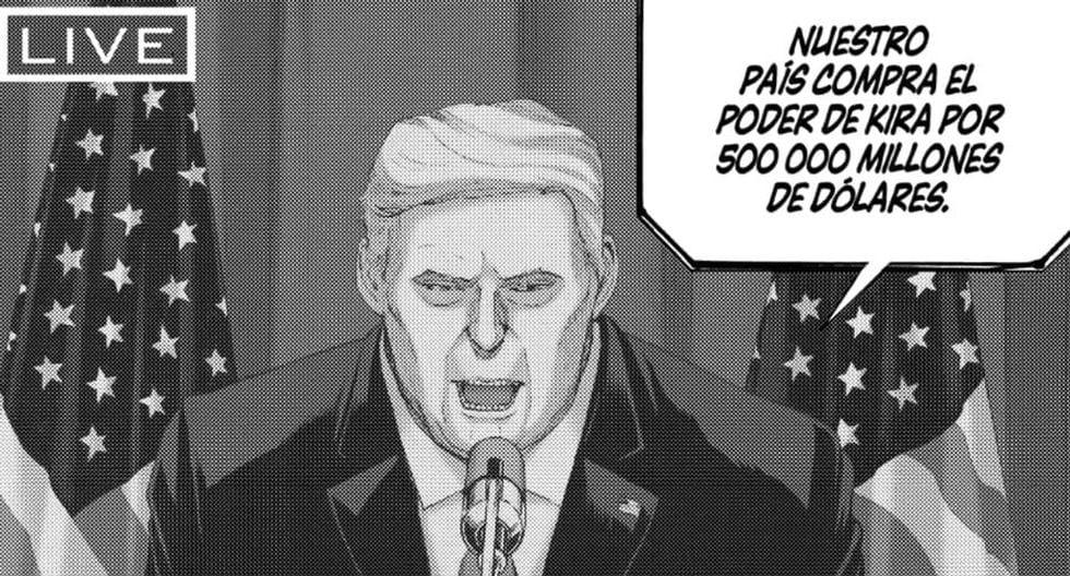 Donald Trump aparece en el oneshot de Death Note