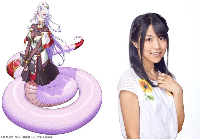 El anime Monster Musume no Oishasan revela su elenco principal