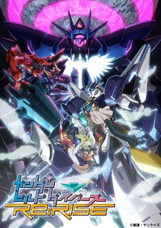 La segunda temporada de Gundam Build Divers Re:RISE se estrenará en abril