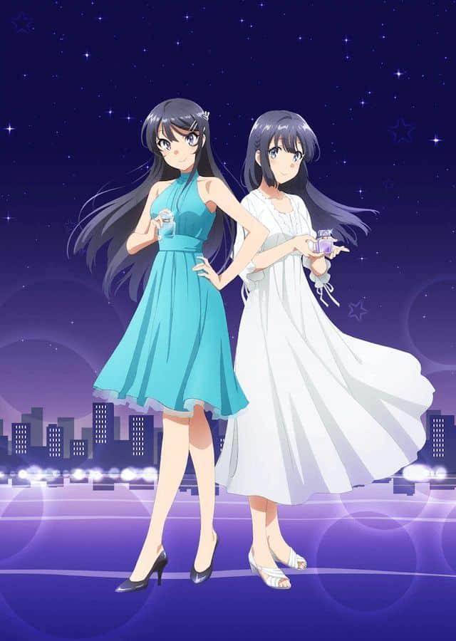 Mai y Shoko de Seishun Buta Yarou estrenan una colección de perfumes