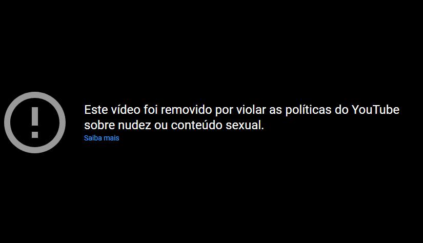 Youtube bloquea un video de Ishuzoku Reviewers por mostrar contenido explicito