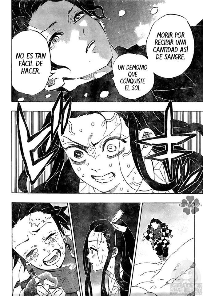 Kimetsu no Yaiba 196 - Nezuko recupera su humanidad y Muzan podría morir