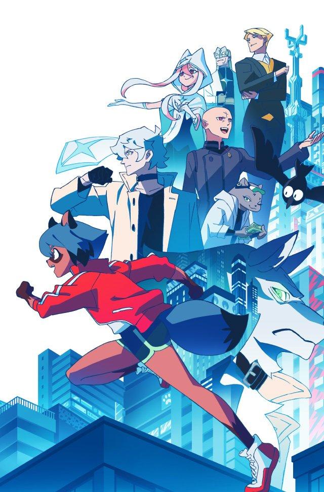 Brand New Animal: El nuevo anime original de Trigger revela su fecha de estreno