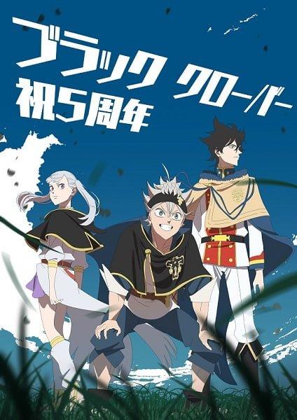 El director del anime Black Clover celebra el quinto aniversario del manga con una ilustración