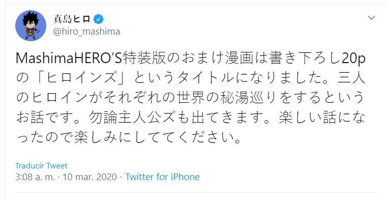 Hiro Mashima anuncia un manga especial de las heroínas de Rave Master, Fairy Tail y Edens Zero