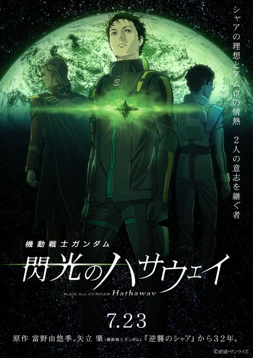 Mobile Suit Gundam: Hathaway revela una imagen promocional