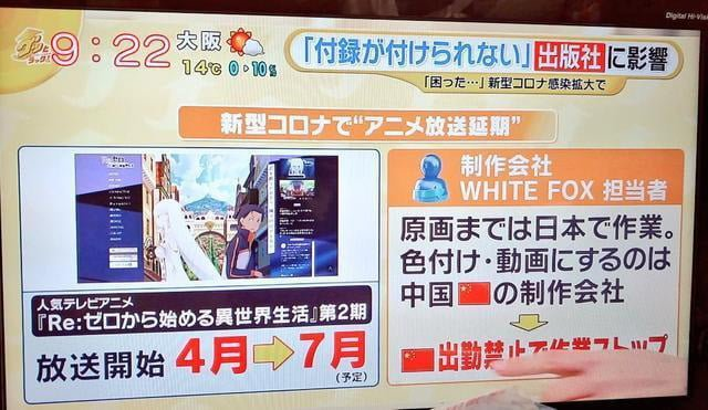 White Fox Studio culpa a los chinos por el retraso de la segunda temporada de Re:Zero