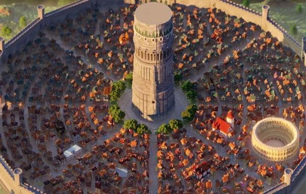 Danmachi: Mira el nuevo mapa de Minecraft que recrea la ciudad de Orario