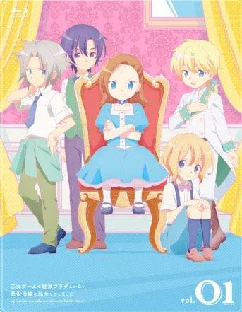 Otome Game no Hametsu Flag incluirá un videojuego Otome en sus Blu-Rays