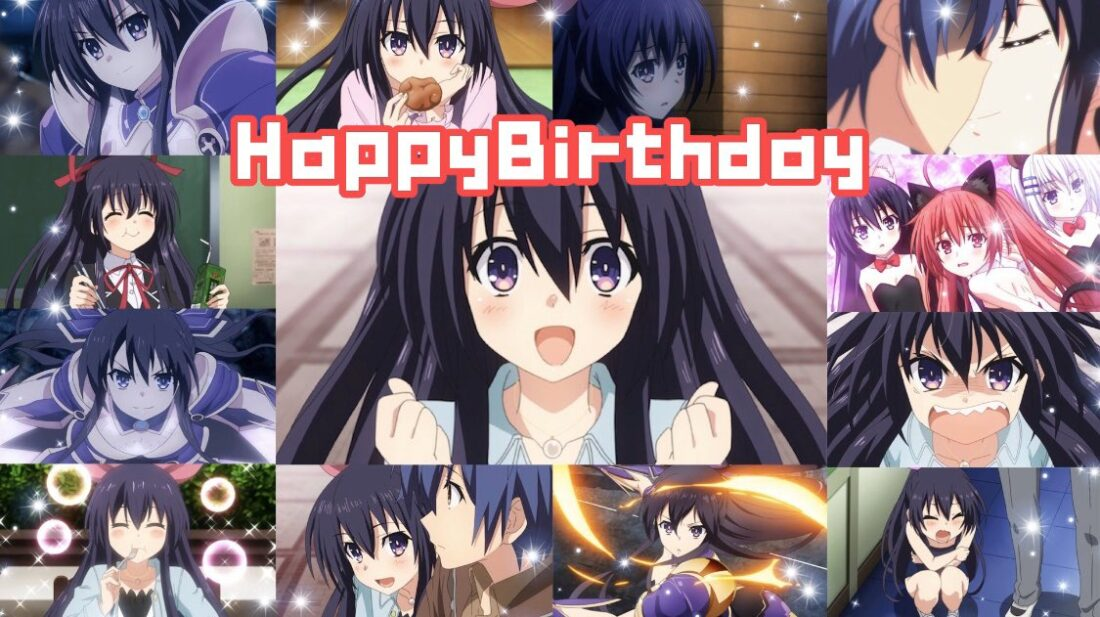 Así celebra Date A Live celebra el cumpleaños de Tohka Yatogami