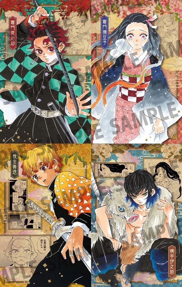 El nuevo volumen de Kimetsu no Yaiba regalará postales