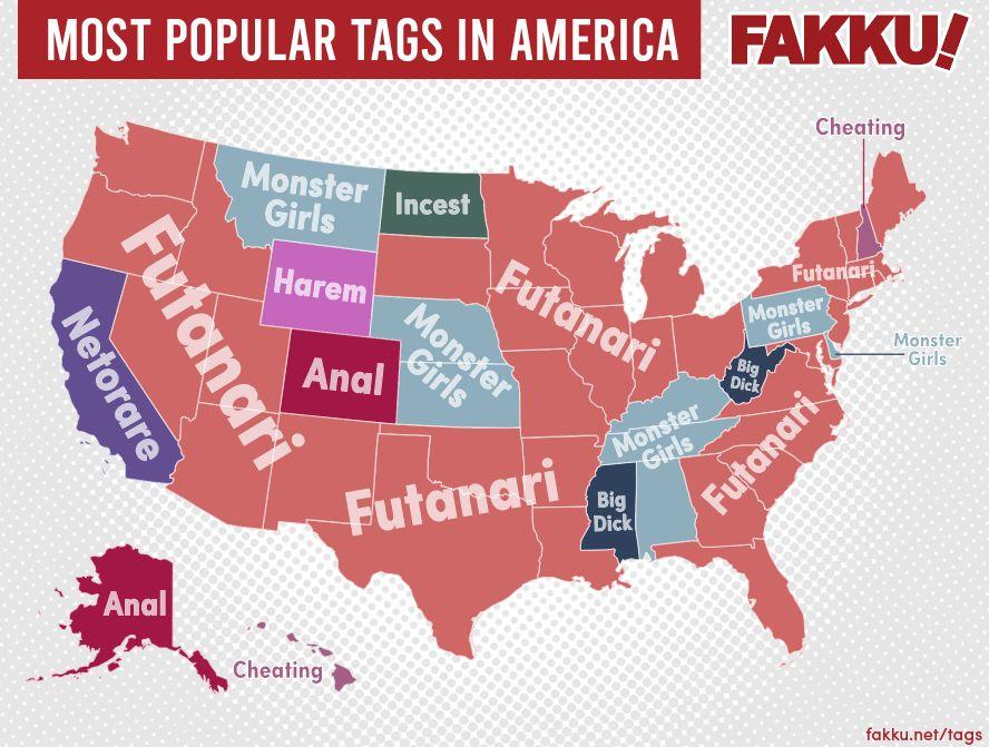 Fakku revela las categorías de Hentai más populares