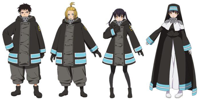 Fire Force revela el nuevo diseño de los protagonistas para la segunda temporada