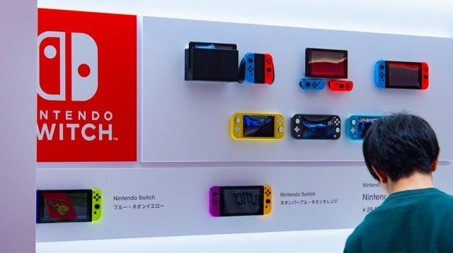 Nintendo detiene la distribución de Nintendo Switch en Japón