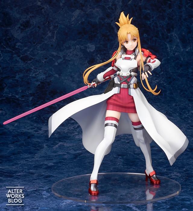 Sword Art Online: Asuna Yuuki estrena una figura inspirada en Gun Gale Online