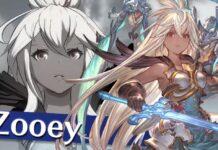 Zooey se une al elenco de personajes jugables de Granblue Fantasy: Versus