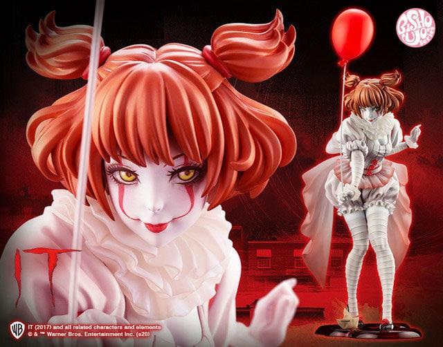 Pennywise se convierte en una tierna chica anime para una nueva figura a escala