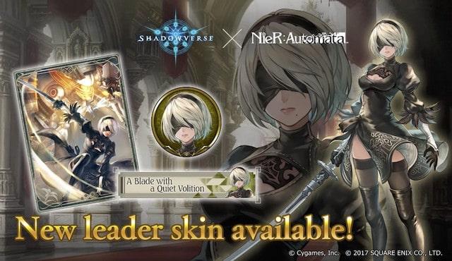 Shadowverse anuncia una colaboración con NieR: Automata