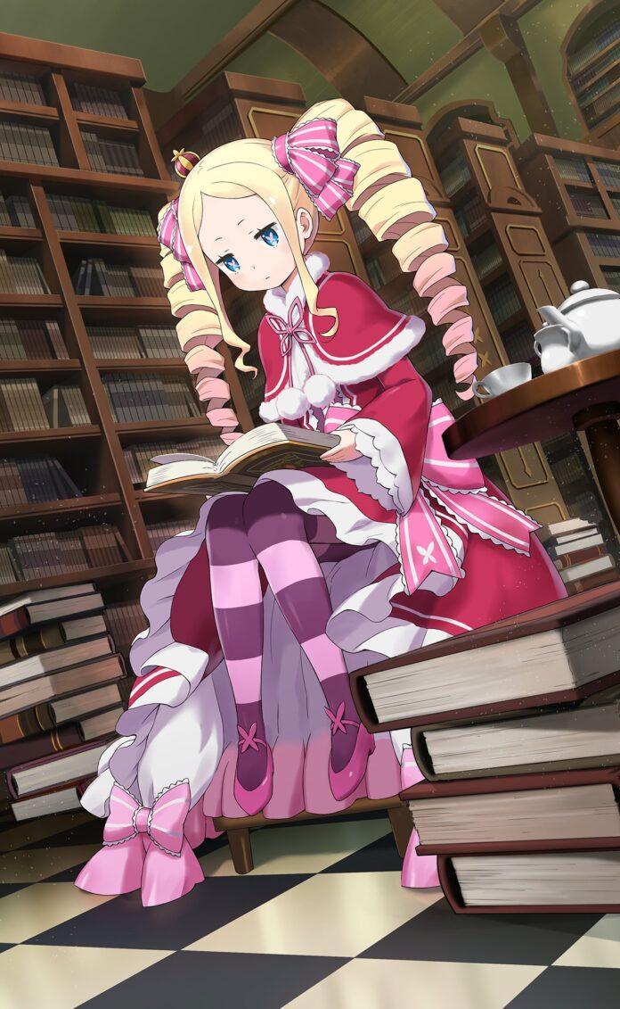 Re:Zero revela una encantadora ilustración de Beatrice
