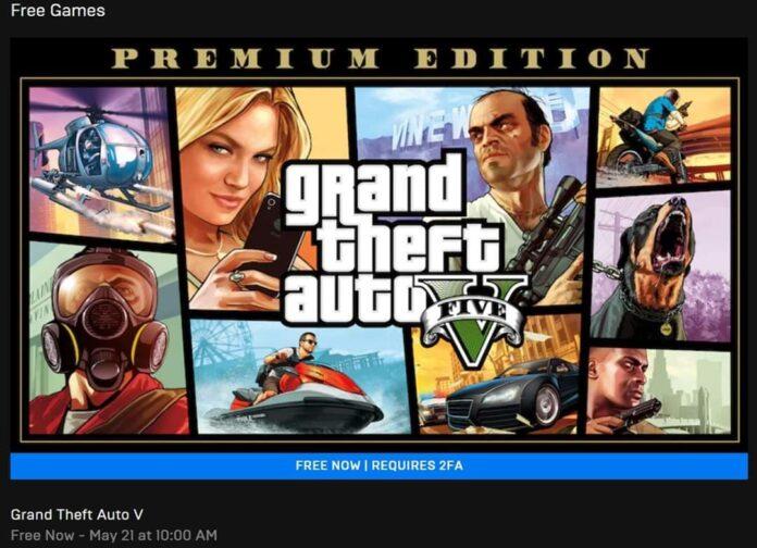 Epic Store regala Grand Theft Auto 5 y colapsan los servidores a los minutos
