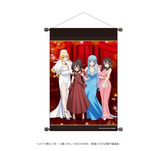Las chicas de Konosuba se visten elegantes para un festival de cine en una nueva colaboración