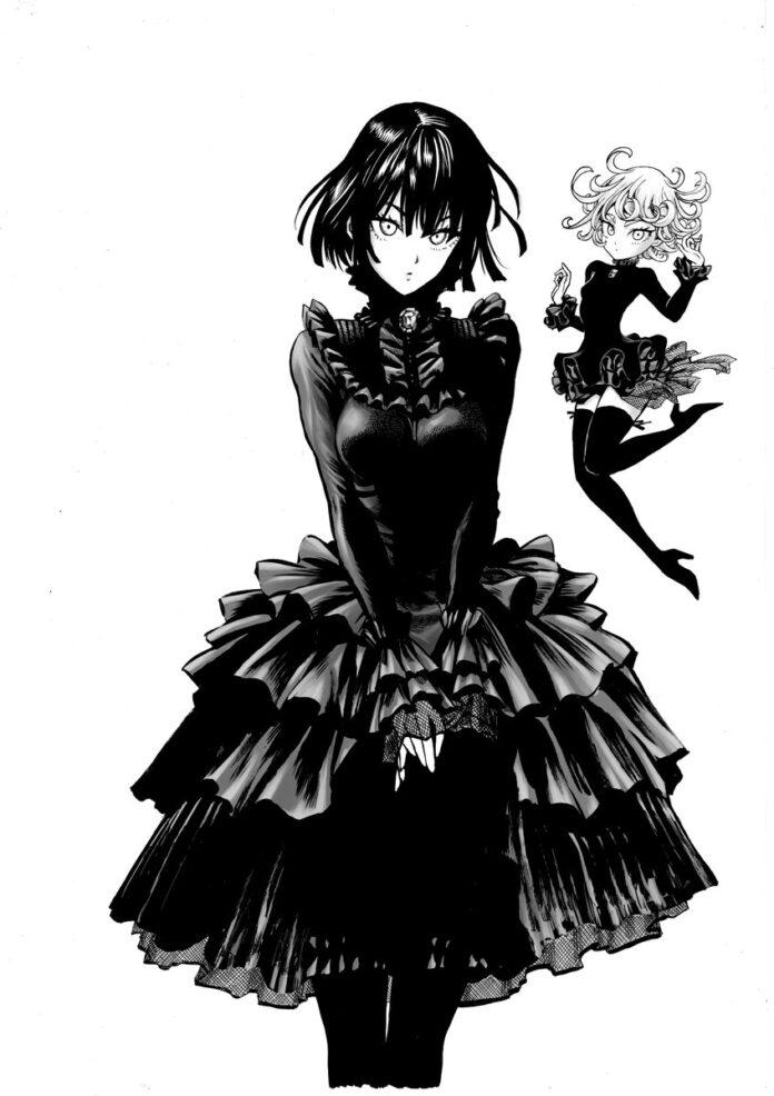 El ilustrador de One Punch Man revela una ilustración de Fubuki y Tatsumaki