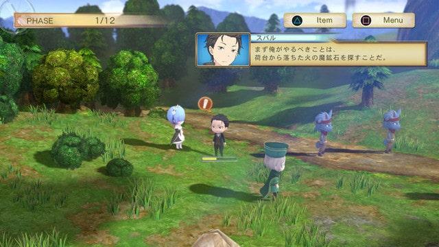 Re:Zero anuncia un nuevo videojuego que estara disponible fuera de Japon