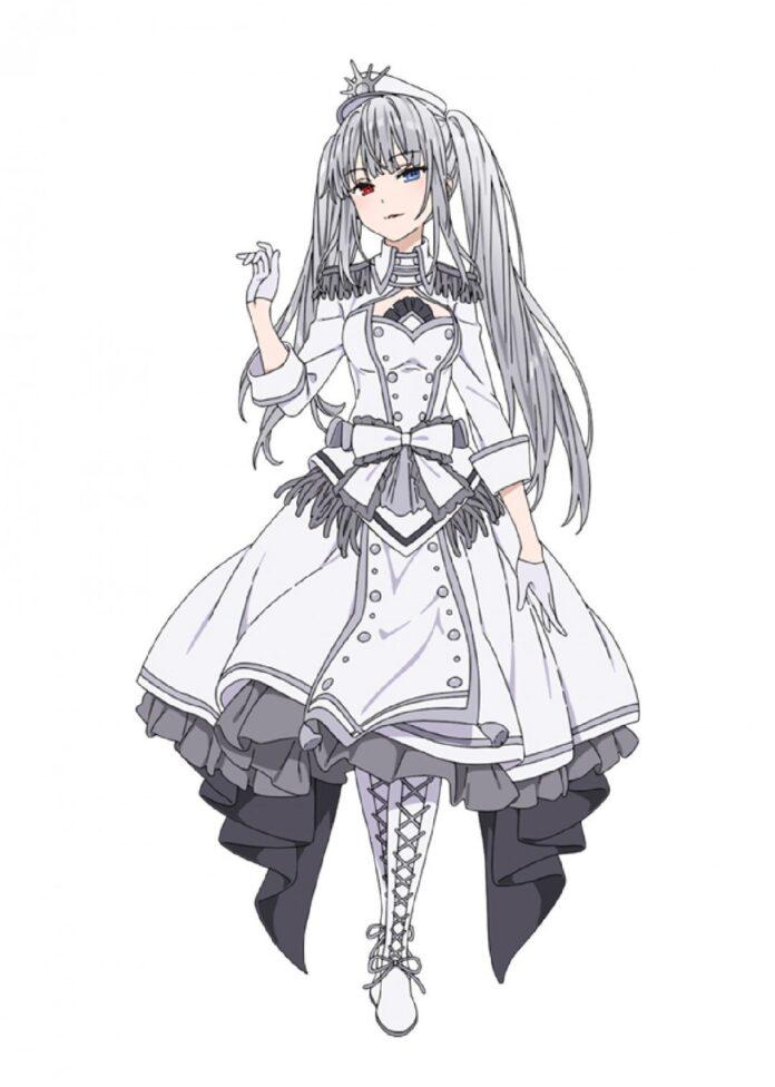 Date A Bullet: El anime protagonizado por Kurumi revela los diseños de personajes