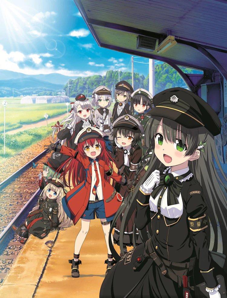 Rail Romanesque tendrá 12 episodios y se estrenará en verano de este año