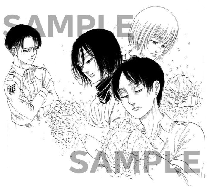 Shingeki no Kyojin te invita a lavarte las manos para evitar contagiarte de Coronavirus