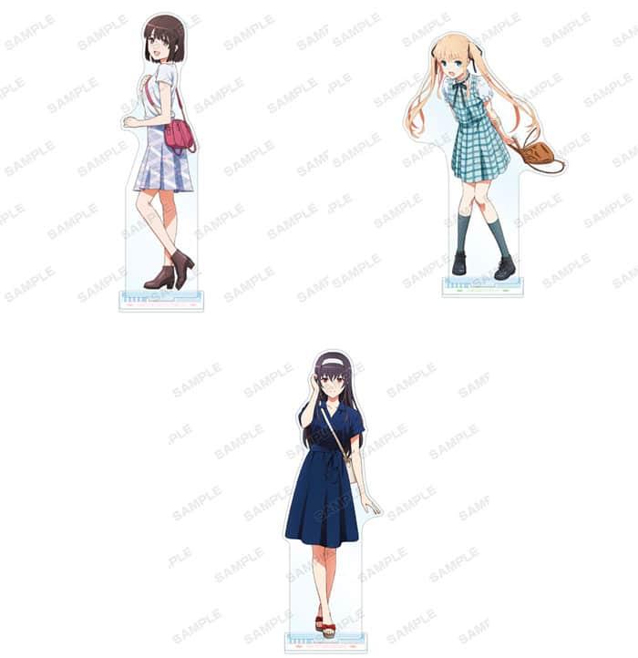 Sakeano: Utaha, Eriri y Megumi luce su ropa de verano en una nueva colaboración