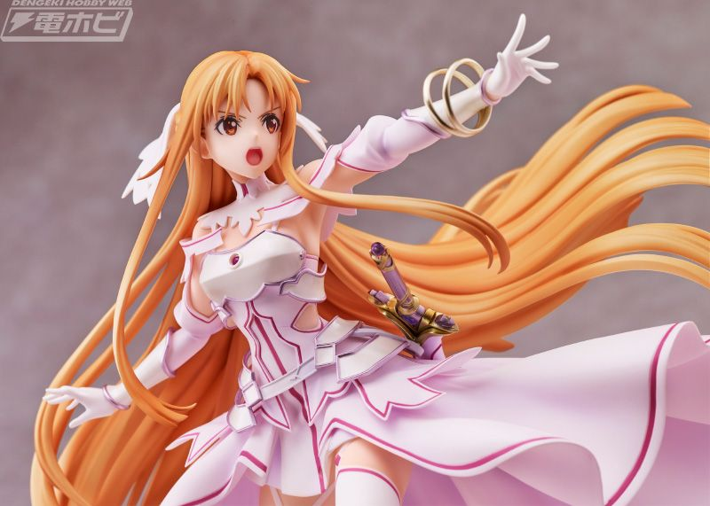 Sword Art Online estrena una encantadora figura de Asuna, la Diosa de la Creación Stacia