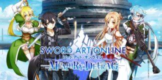 sword art online memory defrag portada