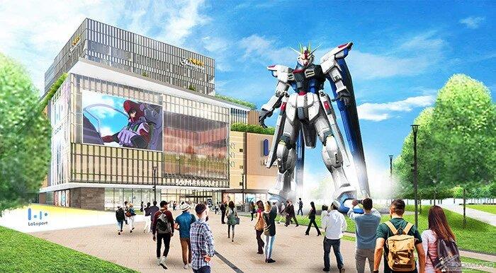 Gundam a escala real