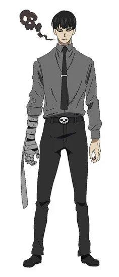 Yuichirou Kurono de Fire Force