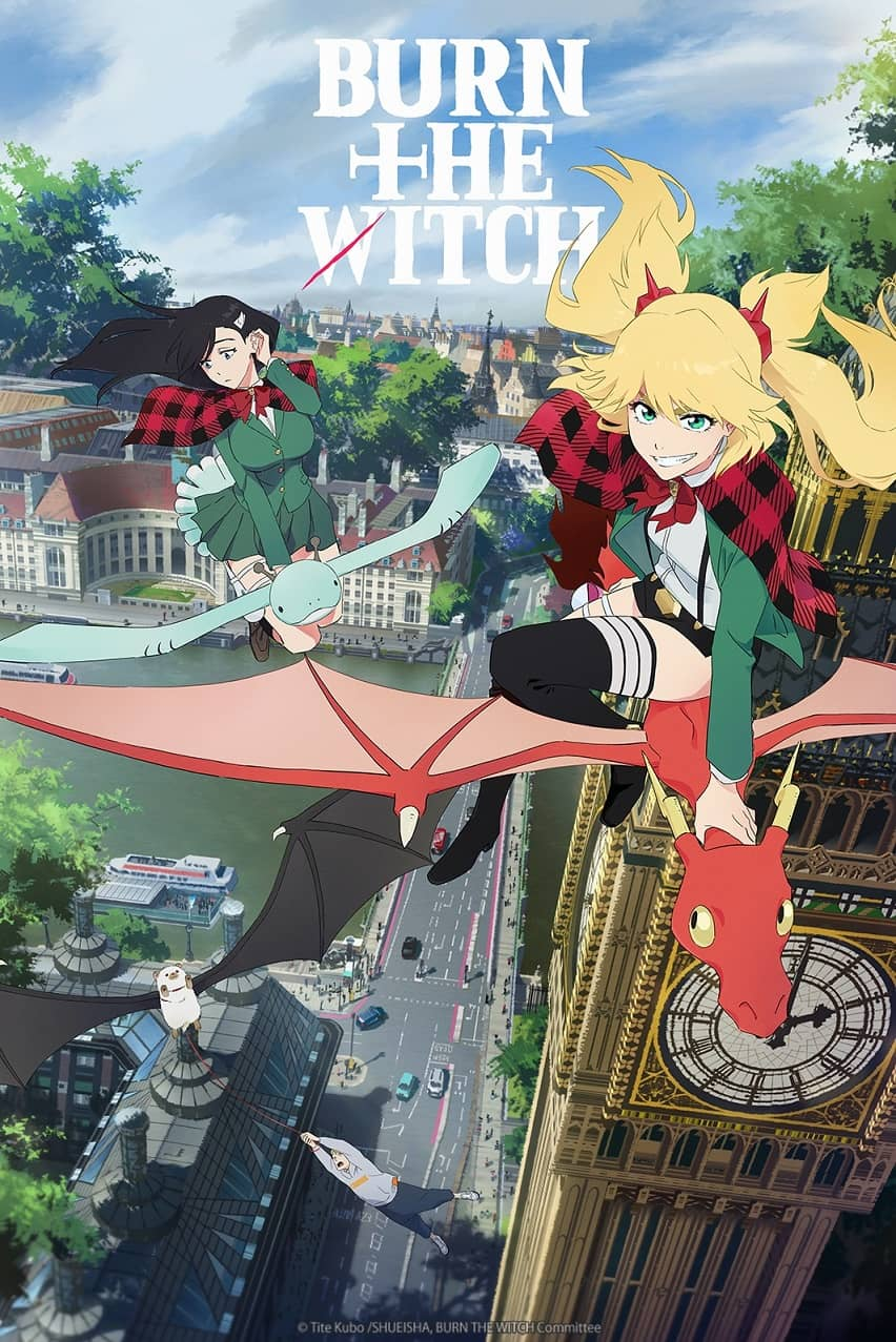 Crunchyroll estrenará el anime Burn the Witch en Octubre