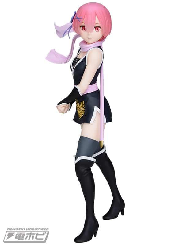 Re:Zero - Ram se viste como ninja en una figura a escala