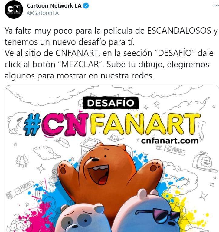 Cartoon Network realiza un concurso de dibujo y termina peor que la waifu de Canal 5
