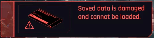 cyberpunk 2077 corrupted