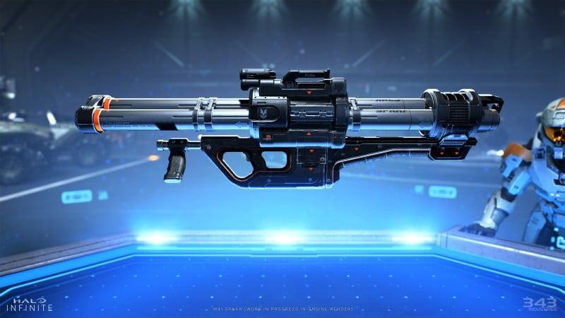 halo infinite weapon