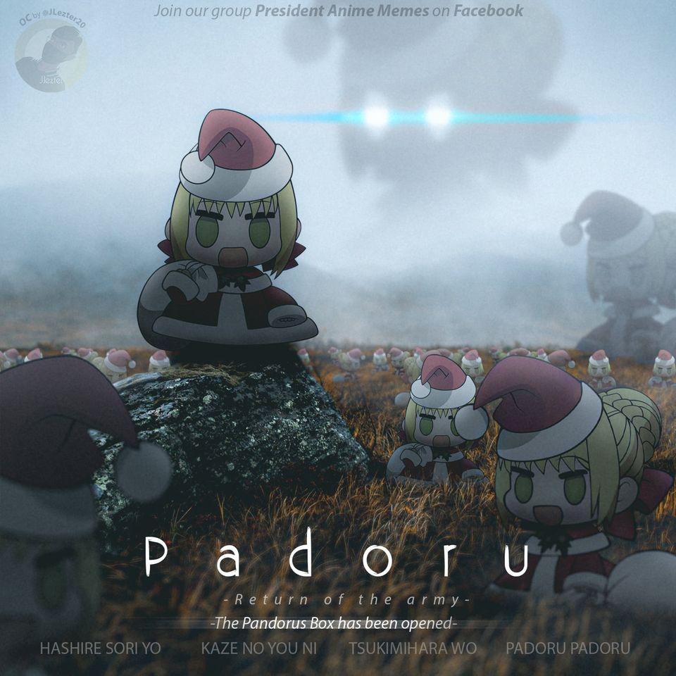 La fiebre por los padoru ha comenzado