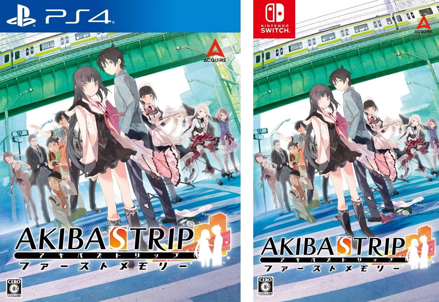 Akiba's Trip: Hellbound & Debriefed portada de PS4 y NS