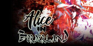 Alice in Borderline wall