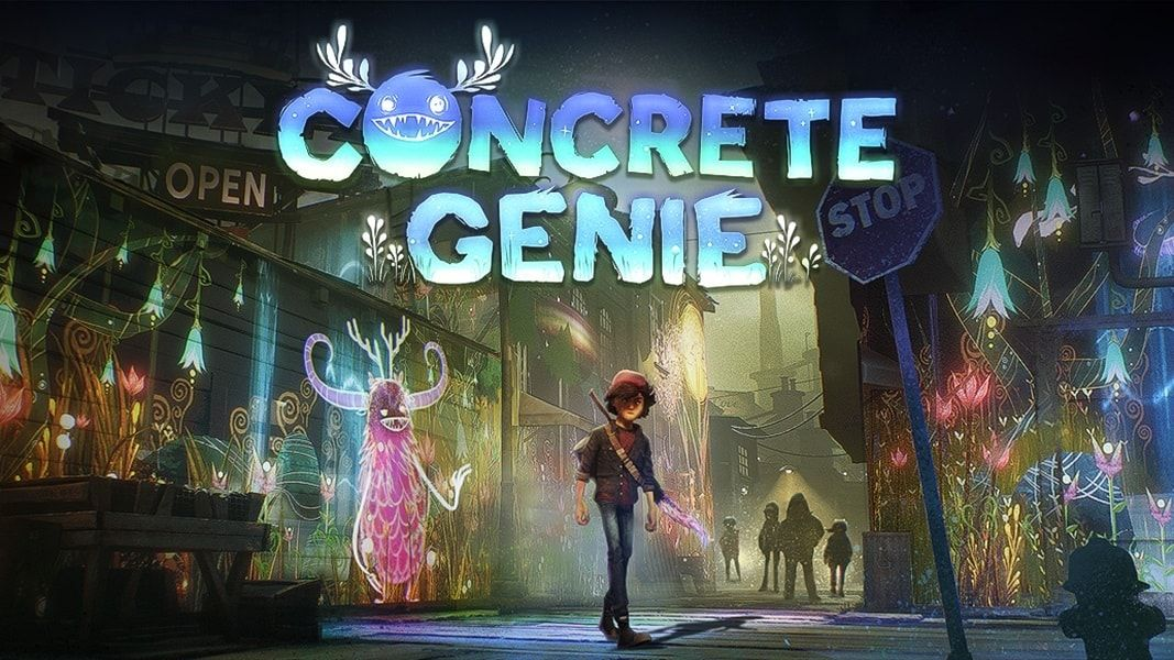 Playstation Plus concrete Genie