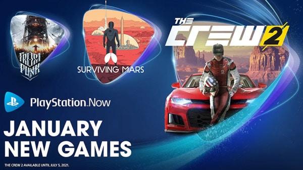 Playstation Now Enero 2021